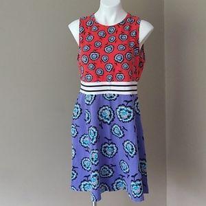 Asos sleeveless festival flower midi dress size 16